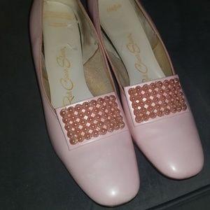 Vintage Powder pink shoes, size 9